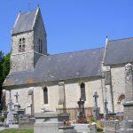 Hiesville, l'église Saint-Côme et Saint-Damien