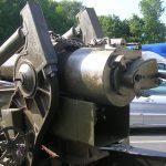 Saint-Laurent-sur-Mer, musée mémorial d'Omaha Beach - canon américain 155 mm