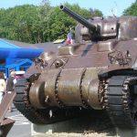 Saint-Laurent-sur-Mer, musée mémorial d'Omaha Beach - char Sherman M4