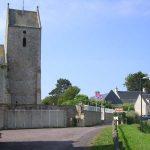 Saint-Laurent-sur-Mer, l'église Saint-Laurent du XIe siècle