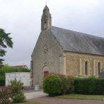 Tourville-sur-Odon, l'église de la Sainte Trinité