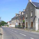 Vierville-sur-Mer, la rue Pavée