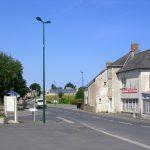 Vierville-sur-Mer, le carrefour principal
