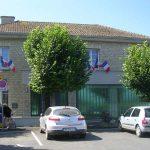 Vierville-sur-Mer, la Poste et la Mairie