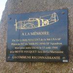 La Motte-Fouquet, stèle Lieutenant Vincent