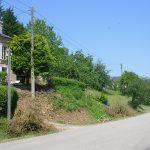 Guerquesalles, le carrefour de la D16 vers Vimoutiers
