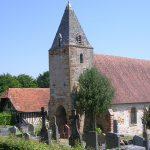 Guerquesalles, l'église Saint-Germain d'Auxerre du XIIIe siècle