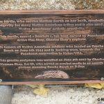 Saint-Laurent-sur-Mer, mémorial Native American Tribes