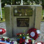 Bavent Le Mesnil, monument Brigadier Hill & 3rd Parachute Brigade