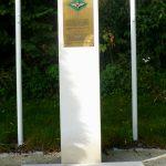 Bénouville, monument 7th Battalion Parachute Regiment