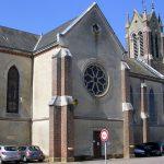 Crulai, l'église Saint-Martin du XIXe siècle