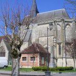 Exmes, l'église Saint-André des XI et XVIe siècles