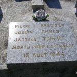 Saint-Christophe-le-Jajolet, tombe soldats 2e DB
