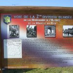Vieux-Pont, monument Voie de la 2e DB
