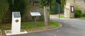 Banville, monument lettrine