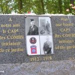 Chef-du-Pont, stèle Captain Rex Combs