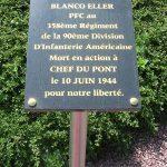 Chef-du-Pont, panneau PFC Blanco Eller