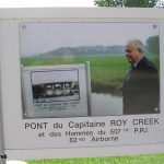 Chef-du-Pont, panneau Captain Roy Creek