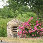 Gonfreville, la fontaine Saint-Manvieu
