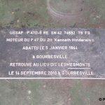 Gourbesville, monument 2Lt Hindersinn