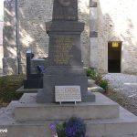 Gourbesville, plaque James Hattrick