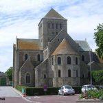 Lessay, l'abbaye de la Sainte-Trinité du XIe siècle