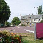 Lessay, la route de La Haye-du-Puits