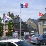Lessay, la place Saint-Cloud
