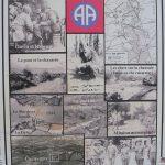 Amfreville Cauquigny, panneau bataille de « la chaussée de La Fière »