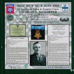 Amfreville Cauquigny, panneau PFC DeGlopper