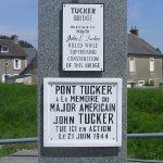Carentan, monument Tucker Bridge