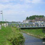Carentan, le pont actuel sur la Taute