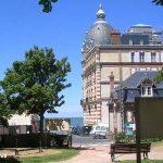 Houlgate, le square Claude Debussy