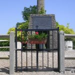 Louvagny, stèle stèle 1st Canadian Army & victimes civiles