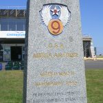 Maupertus-sur-Mer, monument 9th US Air Force