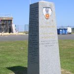 Maupertus-sur-Mer, monument 9th US Air Force