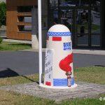 Montebourg, borne de la Voie de la Liberté