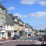 Montebourg, le centre ville