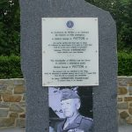 Nehou, camp Patton, monument General Patton