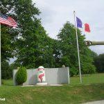 Nehou, camp Patton, borne voie de la Liberté