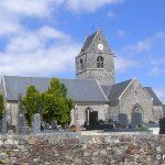 Néhou, l'église Saint-Georges du XVe siècle
