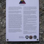 Neuville-au-Plain, plaque 746th tank Battalion