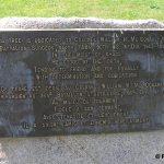 Périers, stèle Colonel Mc Conahey