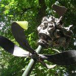 Périers, monument Benjamin Kitchens et Bert Espy