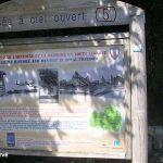 Picauville, panneau espace historique