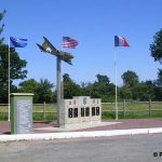 Picauville, monument 9th US Air Force, 82nd & 101st Airborne Divisions