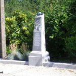 Picauville, Port Filiolet, stèle de la libération