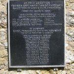 Picauville, plaque 77th Squadron & 501st PIR