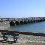 Portbail, le pont aux treize arches