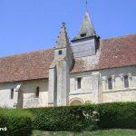 Putot-en-Auge, l'église Saint-Pierre du XIIe siècle